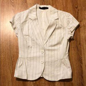 Express - short sleeve blazer